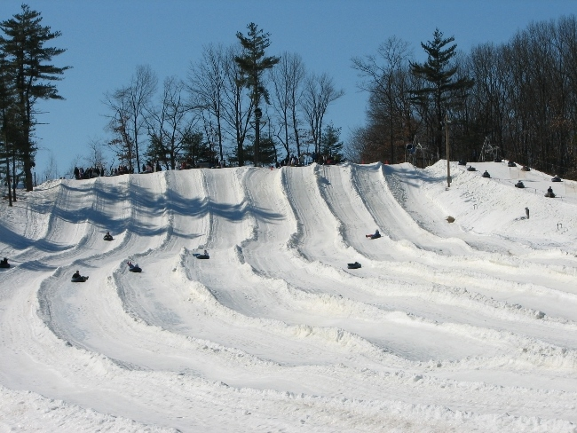 Snow Tubing at Nashoba Valley